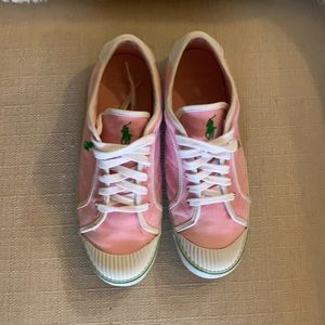 Polo pink sneakers size 9.